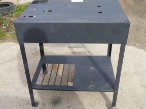 Верстак, стол алюминиевый нержавеющий
