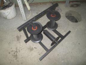 Ролик кабельный угловой рку-150