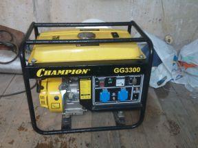 генератор Champion GG3300