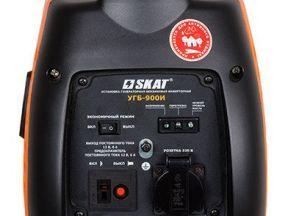 Бензиновый генератор угб-900И, skat