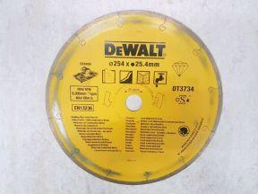 Алмазный диск dewalt DT 3734 250 Х 25,42