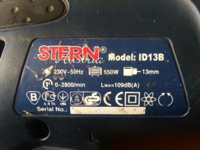 Дрель stern ID13B