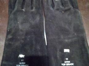 Перчатки-краги сварочные