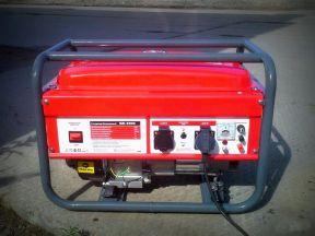 Бензиновый генератор 3.5 кВт новый