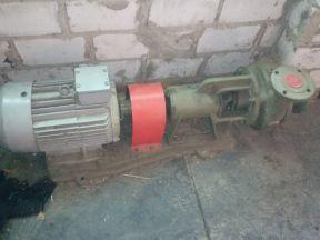 Насос консольный К45/55а б/у