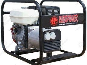Генератор бензиновый europower EP 4100 (Бельгия)