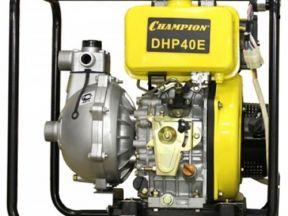 Мотопомпа дизельная champion DHP40E