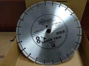 Диск отрезной алмазный 350*25,4*10 мм