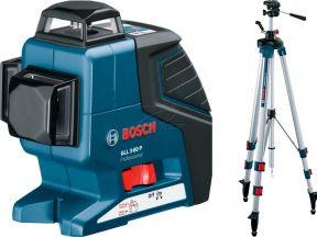 Нивелир лазерный линейный bosch GLL2-80P Professio