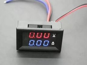 Амперметр вольтметр (вольтамперметр) DC 0-100v 10A
