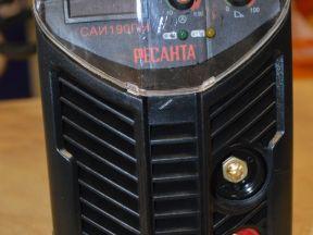 Сварочный инвертор Ресанта саи-190пн