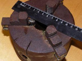 Патрон токарный d 100 мм 3-х кулачковый