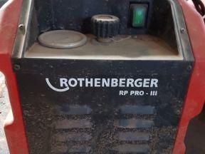 Электрический насос rothenberger rp pro