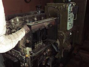 Дизель генератор Robur IFA 18 кВт