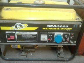 Генератор бензиновый (электростанция) SPG 3000