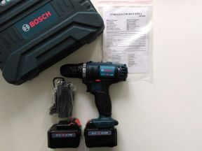 Шуруповерт Bosch 26вт литиевые батареи 1,5ам