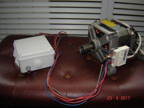 Регулятор оборотов двигателя с реверсом (TDA 1085)