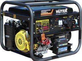 Генератор бензиновый 8 кВт c электро пуском
