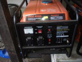 Бензиновый генератор Patriot 4000i (инверторный)