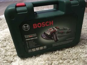 Болгарка. Угловая Шлифмашина Bosch PWS 850-125