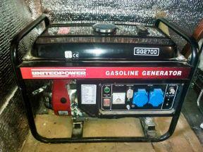 Генератор бензиновый unitedpower GG2700 2 кВт