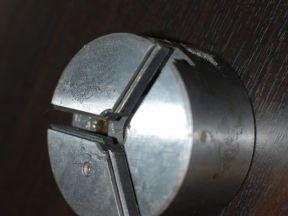 Патрон токарный 80мм В Бизон стальной (корпус)