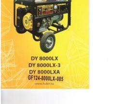 Huter dy 8000 lx бензиновый генератор Кирюха Вт7000