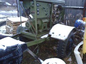 Армейский генератор 10квт на прицепе
