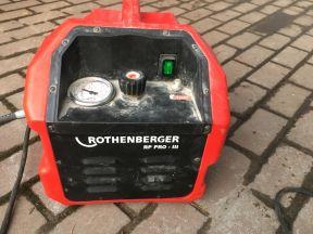 Rothenberger. Электрический опрессовочный насос RP