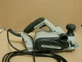 Рубанок электрический Интерскол Р-102 + ножи