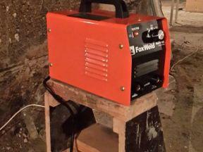 Новый портативный сварочный аппарат Foxweld