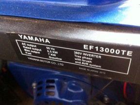Генератор бензиновый Ямаха EF 13000 TE