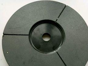 Фат полировальный ф250 мм резина