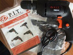 Электрическая дрель P. I. T. PBM10-D (новая)