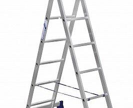 Лестница алюминиевая двухсекционная
