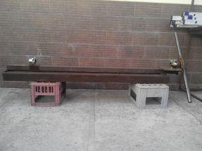 Самодельный станок для завивки квадрата, полосы
