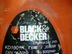 Перфоратор blackdecker KD 1001K