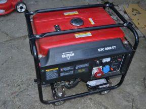 Бензиновый генератор Elitech бэс 8000 ет (3 фазы)
