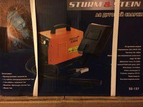 Сварочный аппарат Sturm Stein ss-137