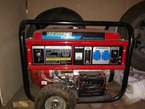 Бензиновый генератор Etaltech ProLine EPG 6500Е2