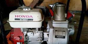 Бензиновая мотопомпа Хонда WB30XT3DRX