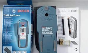 Продаю новый детектор проводки Bosch DMF 10 Zoom
