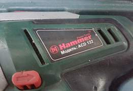 Дрель шуруповерт hammer Acd122