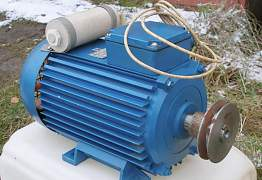 Новый электродвигатель однофазный, 2.2кВт/2765