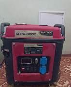 Бензогенератор Matrix D-PG-3000 инверторного типа