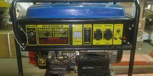 Бензогенератор Huter DY6500LX 5 кв