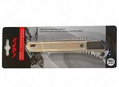 Vira 831309 18мм, нож строительный металлический