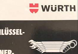 Набор гаечных ключей с трещеткой фирмы Wurth
