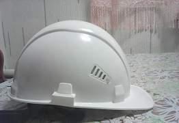 Каски строительные с подшлемником новые