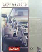 Краскопульт SATA jet 100 B F hvlp